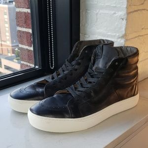 VansxHorween leather Sk8 highs